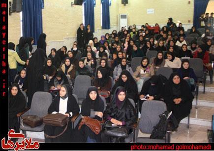 نشست پرسش و پاسخ دانشجویان با سید محمد غرضی