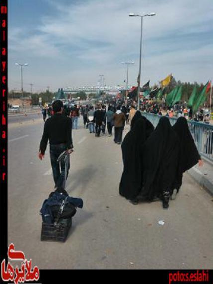 پیاده روی اربعین در قاب تصویر خبرنگار ملایریها
